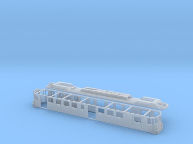MThB ABDe Scale HO (Schweiz SBB) in Smooth Fine Detail Plastic: 1:87