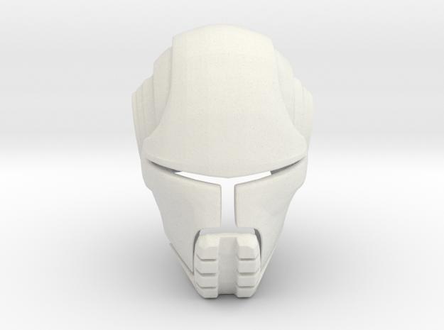 Starkiller Helmet Star Wars: Force Unleashed in White Natural Versatile Plastic