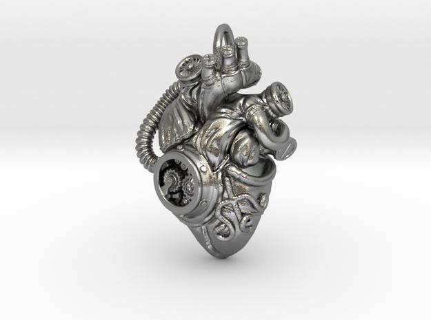 Steampunk Heart Pendant