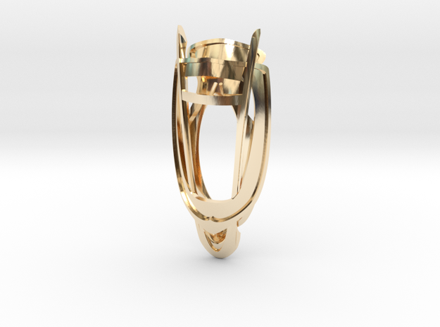 Lens of Harmony in 14K Yellow Gold
