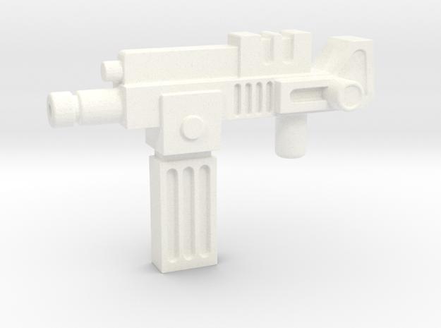Lightspeedgun  in White Processed Versatile Plastic