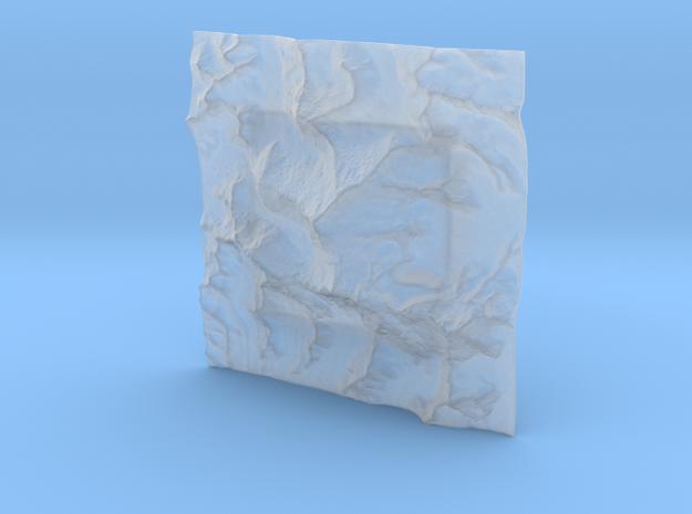 4''/10cm Mt. Everest, China/Tibet, WSF 3d printed
