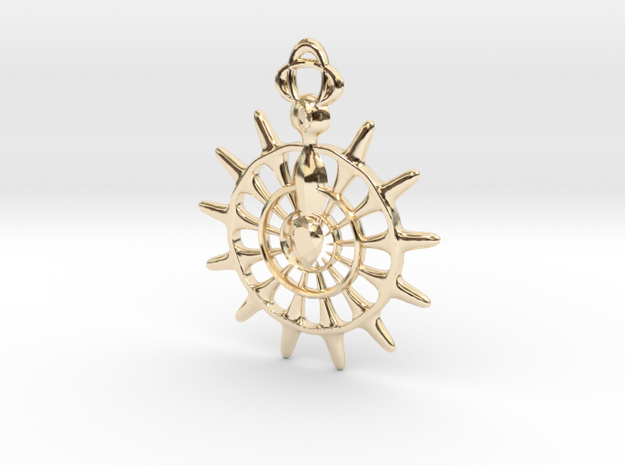 Knights of the Round  in 14K Gold