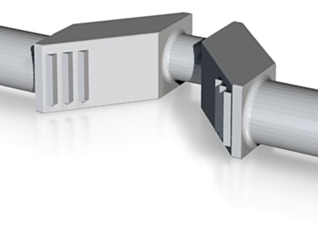 Krumtap H2-maskine Spor0 3d printed