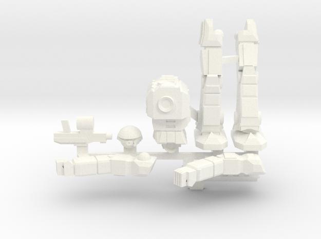 Celt Posable in White Processed Versatile Plastic