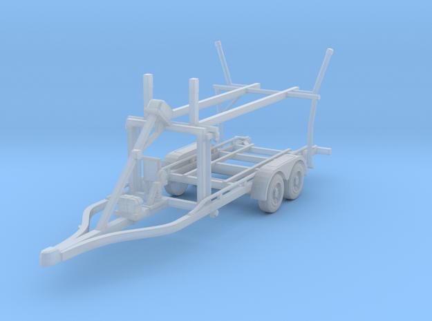 Boat trailer 01. HO Scale  (1:87)