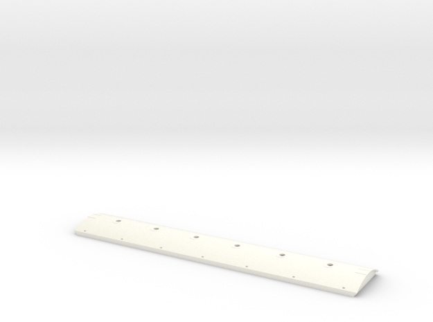 ACF 4650 Roof With 20in Hatches and 13 supports in White Processed Versatile Plastic