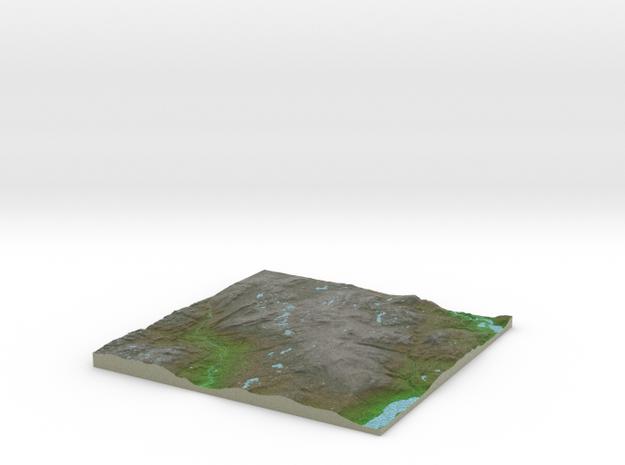 Terrafab generated model Thu Jan 14 2016 15:19:43  in Full Color Sandstone