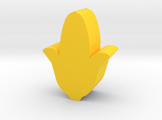 Game Piece, Corn in Yellow Processed Versatile Plastic