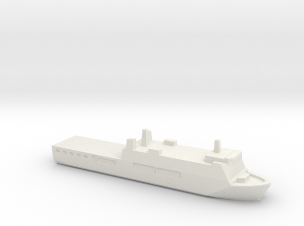 KRI Surabaya, 1/3000 in White Natural Versatile Plastic