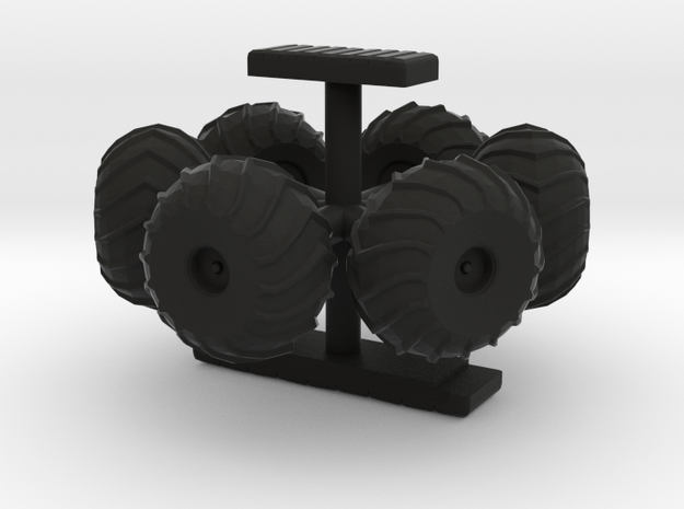 Moon Buggy for True 22 Inch Scaled Eagle - Wheels  in Black Strong & Flexible