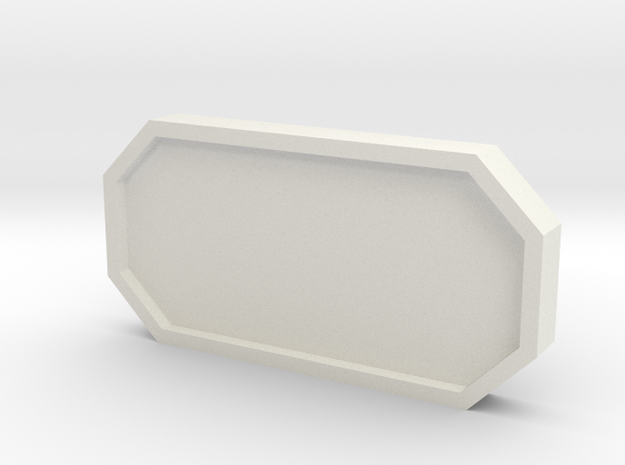 Hub Window Cover in White Strong & Flexible