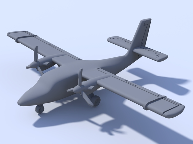 1:200_Twin Otter [x1][S] in Smooth Fine Detail Plastic