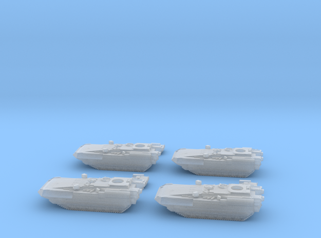 T-15 Armata IFV Platoon of 4  6mm\1:285 in Smooth Fine Detail Plastic