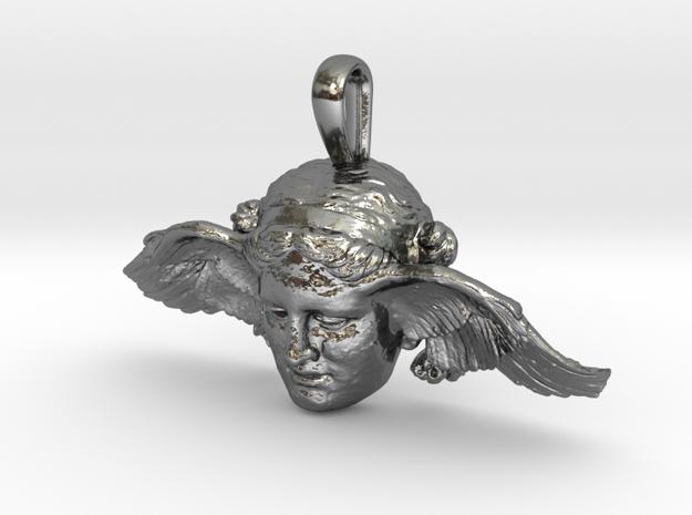 Hypnos, god of sleep, pendant (restored wing)