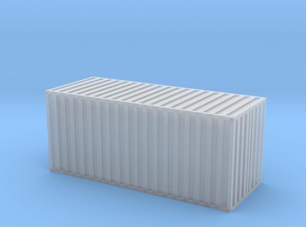 20 Fuss Container in Smooth Fine Detail Plastic