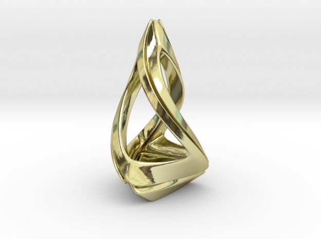 Trianon T.1, Pendant in 18k Gold Plated