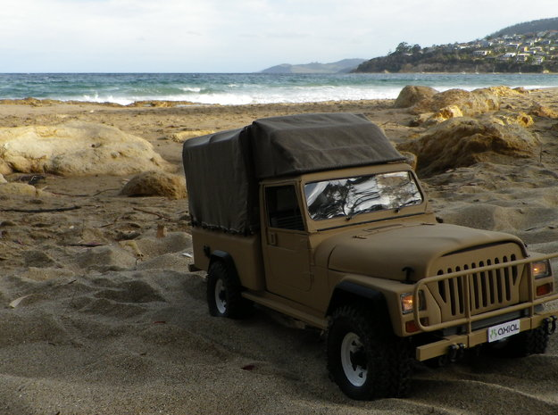 Jeep Cj10, J10, Perentie front end conversion for  in Natural Sandstone