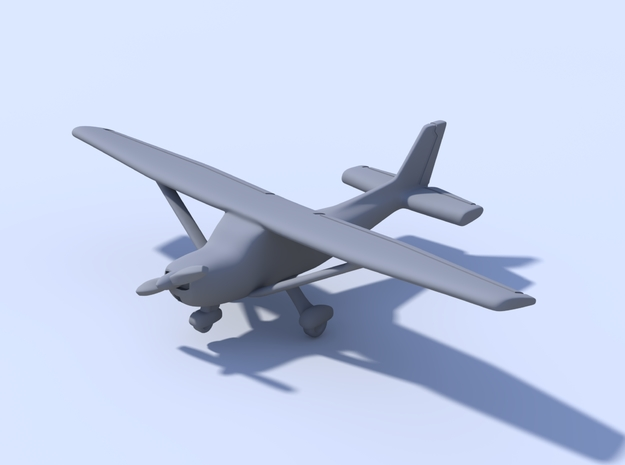 1:400_Cessna Skyhawk [x2][A] in Smooth Fine Detail Plastic