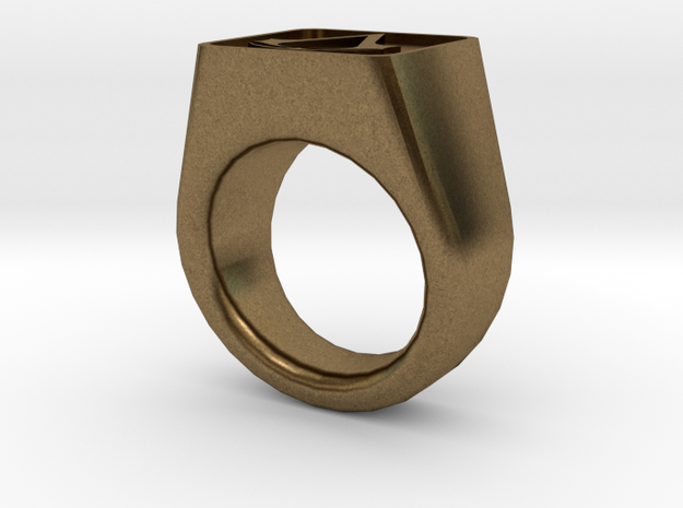Assassin's Signet Ring 3d printed
