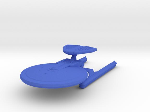 1/2500 - Hutzel A - ECM Cruiser (solid nacelles) in Blue Processed Versatile Plastic
