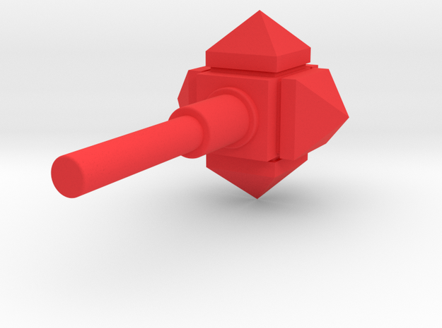 MiniFig NK Mace Std in Red Strong & Flexible Polished