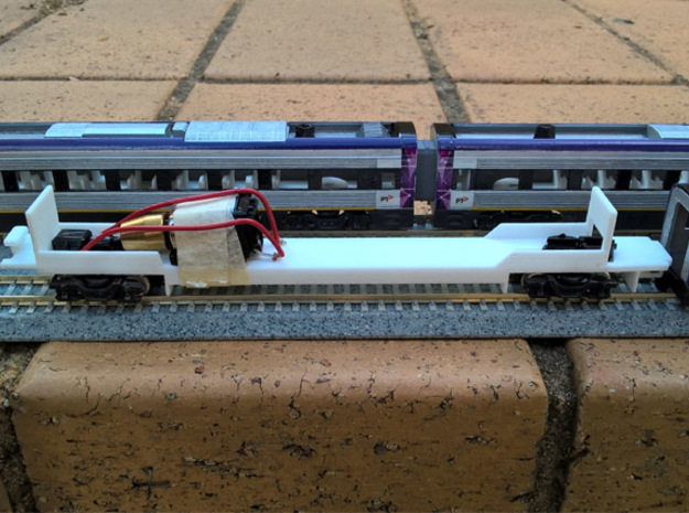 N.01B - Part B - V/Line V'Locity DMU - N Scale  in White Strong & Flexible