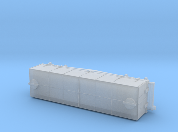 A-1-160-wdlr-h-wagon-body-plus in Smooth Fine Detail Plastic