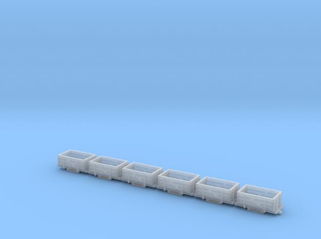 A-1-160-wdlr-b-class-wagon2a-x6 in Smooth Fine Detail Plastic