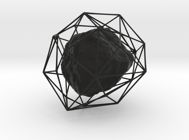 Rock In Cage in Black Strong & Flexible