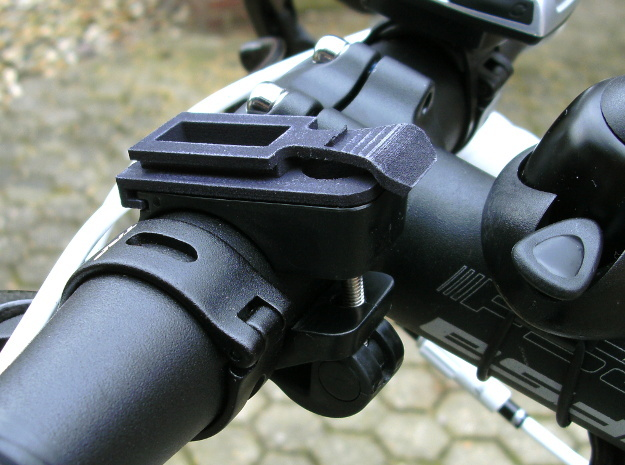 Ixon bicycle headlight clamp part in Black Strong & Flexible