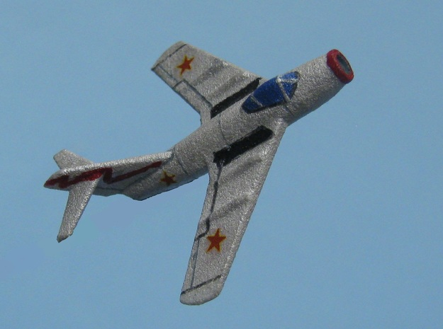 1/285 (6mm) Mig-15  in White Strong & Flexible