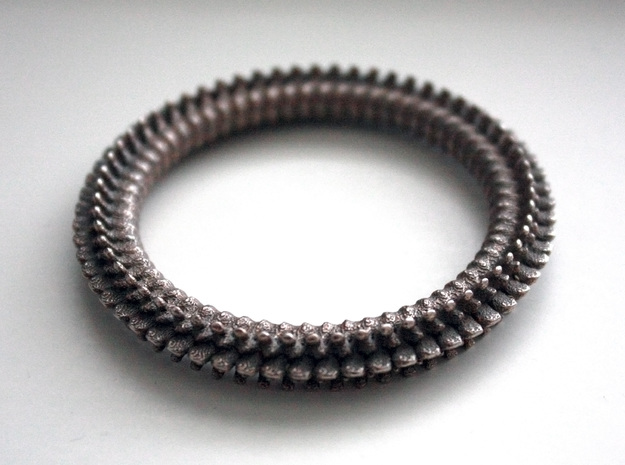 Spine cockring in Stainless Steel