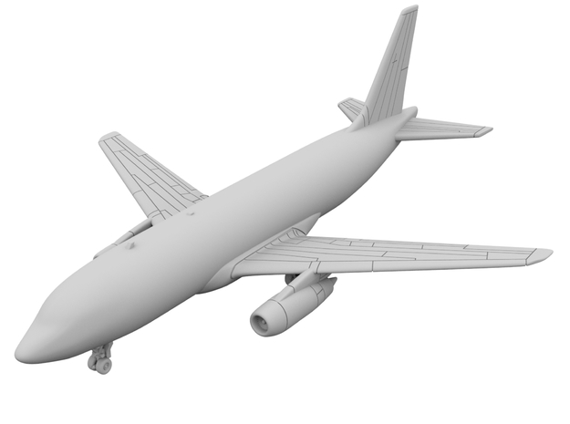 1:400_Dassault Mercure [x2][A] in Smooth Fine Detail Plastic