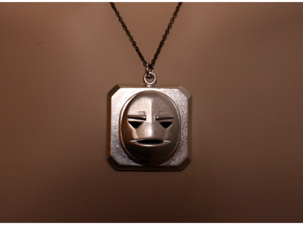 The Amulet in Raw Silver