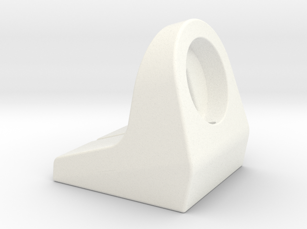 Apple Watch Stand in White Processed Versatile Plastic