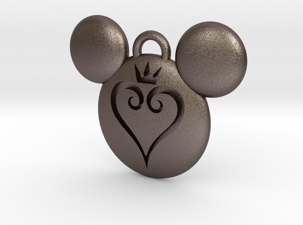 Kingdom Hearts Keychain  in Stainless Steel