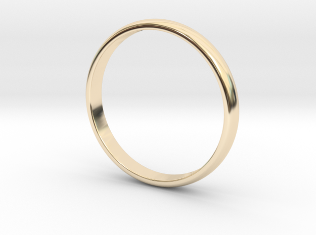 Simple Ring Size 5 in 14K Yellow Gold