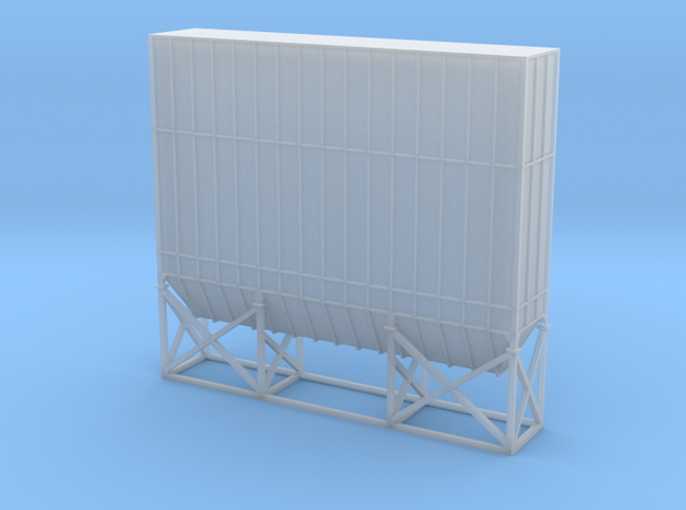 N Scale Dust Filter Nr2b in Smooth Fine Detail Plastic