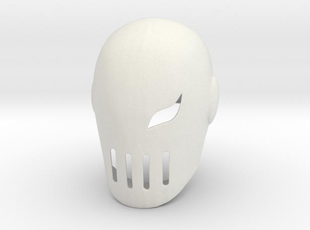 Deathstroke (Slade) Teen Titans in White Strong & Flexible
