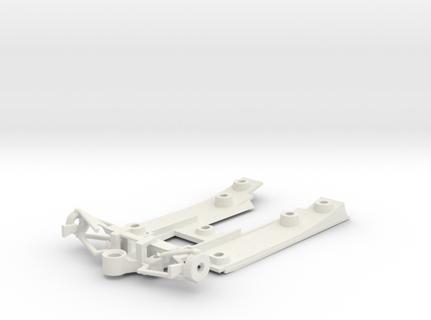 Williams FW07 chassis in White Natural Versatile Plastic