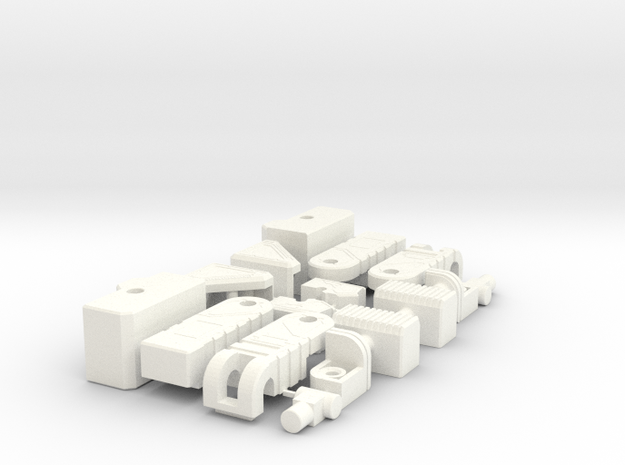 Transformers Gum Fortress Maximus Add-on Parts in White Processed Versatile Plastic