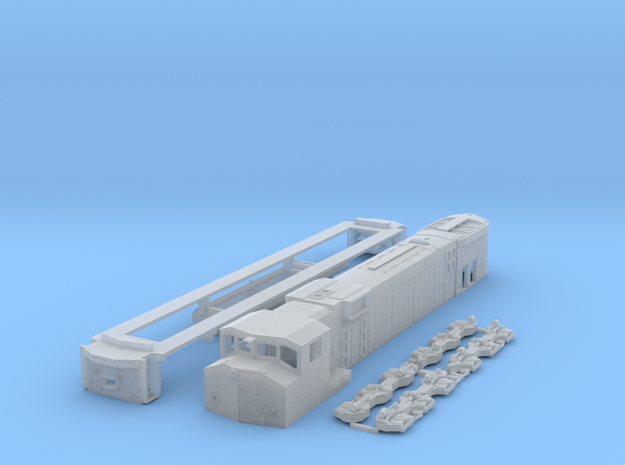 TT Scale M630w in Smooth Fine Detail Plastic