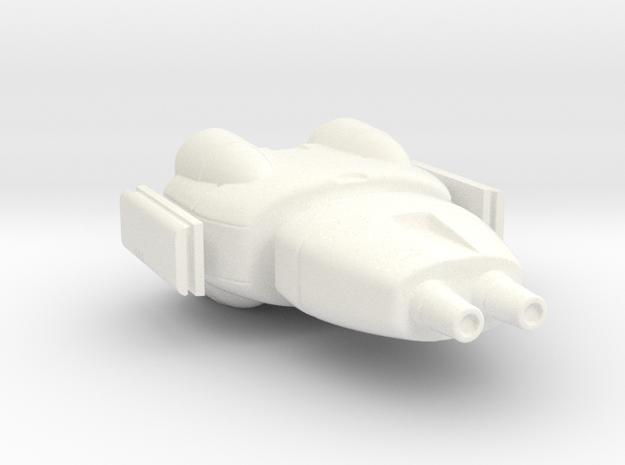 armor piercing destroyer in White Processed Versatile Plastic