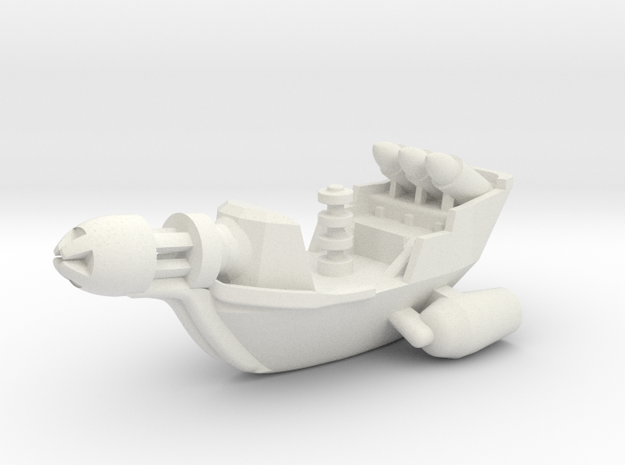 Rho Indi Cruiser in White Natural Versatile Plastic