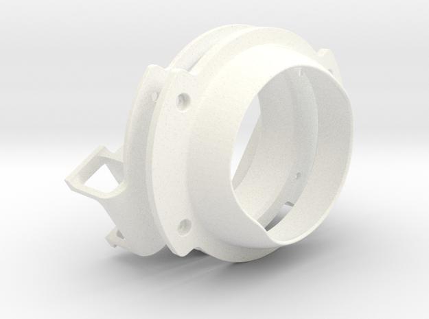 HP Mount in White Processed Versatile Plastic