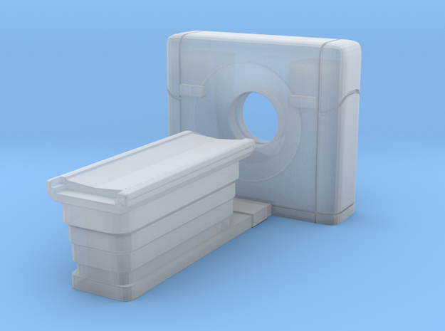 CT Scanner 01. N Scale (1:160) in Frosted Ultra Detail