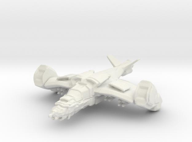 Gremlin Gunship in White Strong & Flexible