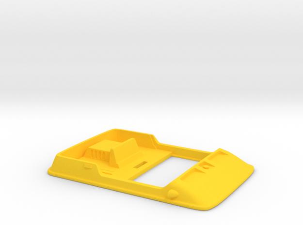 1/48 Amphicat top in Yellow Processed Versatile Plastic