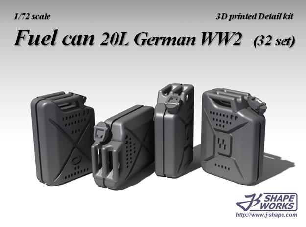 1/72 Fuel Can 20L German WW2 (32 set)
